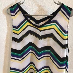 14th and Union hi lo sleeveless shirt